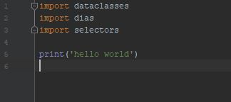 hello world @ dias